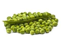 Fresh peas 2. Fresh peas isolated on white background Stock Photography