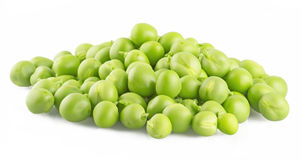 Fresh peas Stock Image