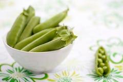 Fresh peas Stock Photo
