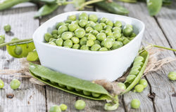 Fresh Peas Royalty Free Stock Photography