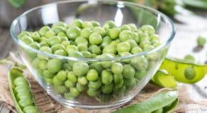 Fresh Peas Stock Images