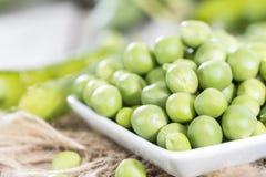 Fresh Peas royalty free stock image