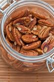 Fresh Pecan nuts Royalty Free Stock Photos