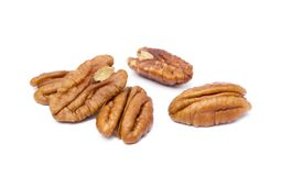 Fresh pecan nuts Royalty Free Stock Photo