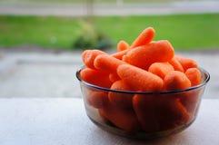 Fresh peeled carrots Royalty Free Stock Photo