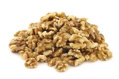 Fresh peeled walnuts Stock Photography