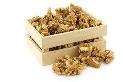 Fresh peeled walnuts Stock Photos