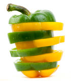 Fresh pepper vegetables Royalty Free Stock Photography