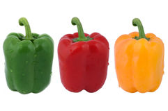 Fresh peppers Royalty Free Stock Photos