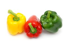 Fresh peppers Royalty Free Stock Images