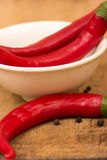 Fresh peppers Stock Photo