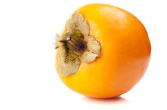 Fresh persimmon Royalty Free Stock Images