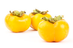 Fresh persimmon fruit Royalty Free Stock Images