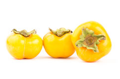 Fresh persimmon fruit Royalty Free Stock Photography