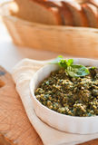 Fresh pesto Royalty Free Stock Photography