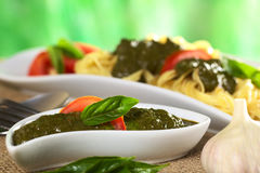 Fresh Pesto Royalty Free Stock Image