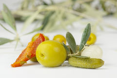 Fresh Pickles Royalty Free Stock Photography