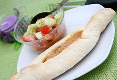 Fresh pide Royalty Free Stock Image