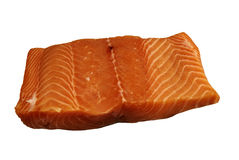 Fresh piece of Atlantic Salmon Stock Photography