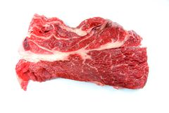 Fresh Piece of Steak for Grilling Stock Images