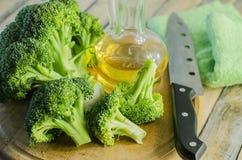 Fresh pieces of broccoli Stock Image