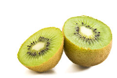 Fresh pieces kiwi fruit Stock Photography