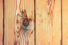 Fresh pine vertical wooden planks as background stock image