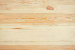 Fresh pine wood planks background top view Royalty Free Stock Photography