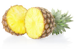 Fresh pineapple stock photo