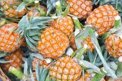 Pineapple in market, Bangkok, Thailand. Royalty Free Stock Photography