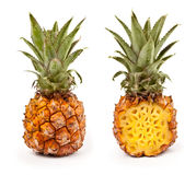 Fresh pineapple closeup Royalty Free Stock Photography