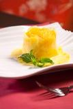 Fresh Pineapple dessert Stock Image