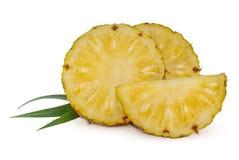 Fresh Pineapple fruit isolated on white background stock images