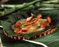 Fresh Pineapple Fruit Salad Stock Photos