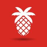 Fresh pineapple icon Stock Photography
