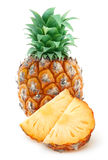 Isolated pineapple Stock Images