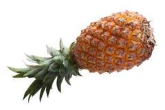 Fresh pineapple isolated on white background. Royalty Free Stock Image