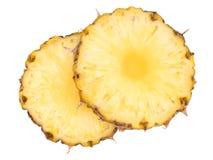 Fresh pineapple isolated on white. Stock Photo