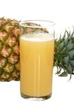 Fresh Pineapple Juice Stock Image