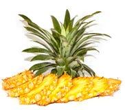 Fresh pineapple sliced royalty free stock photo