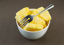 Fresh Pineapple Slices Stock Image
