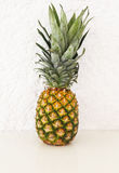 Fresh pineapple on white background Stock Image