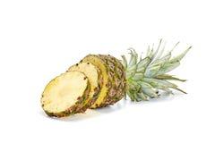 Fresh pineapple on white background Stock Photo