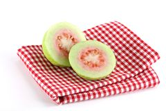 Fresh Pink Apple Guava Royalty Free Stock Photos