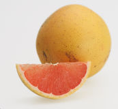 Fresh pink grapefruit Royalty Free Stock Image