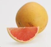 Fresh pink grapefruit. Fresh ripe delicious pink grapefruit organic citrus Royalty Free Stock Image