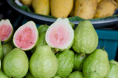 Fresh Pink Guavas Royalty Free Stock Images