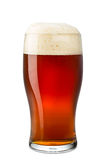 Fresh pint of beer Stock Photography