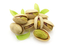 Fresh pistachio Royalty Free Stock Images