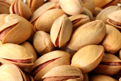 Fresh pistachios Stock Photography